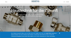 Preview of hhertig.ch